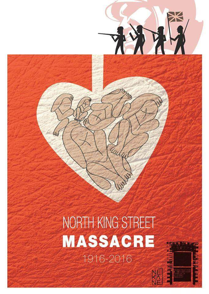 North King St Massacre 1916-2016 - Nekane Orkaizagirre