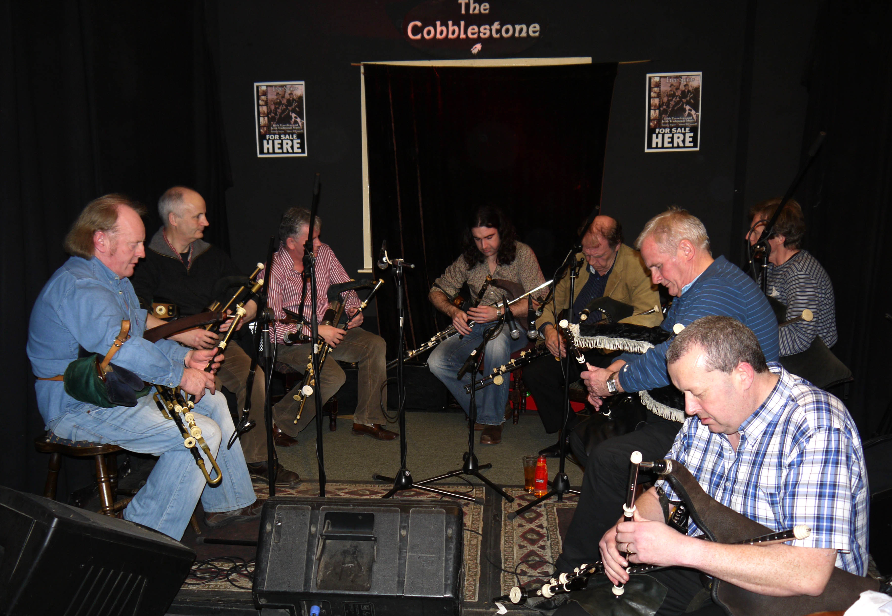 Free Spirits Launch @ The Cobblestone - Johnny Doran